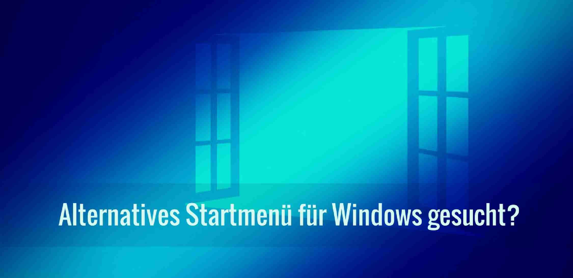 Alternatives Windows Startmenü My Menu Explorer